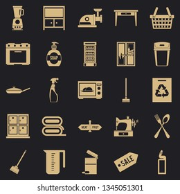 Fireside icons set. Simple set of 25 fireside vector icons for web for any design