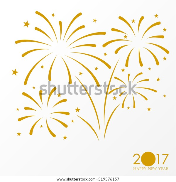 firework background, can be use for celebration, party, and new year event. vector illustration