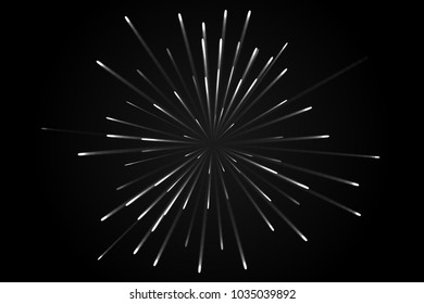 firework vector. Futurism Lines backgrounds, abstract
