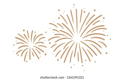Fireworks Graphic Clipart Vector New Year