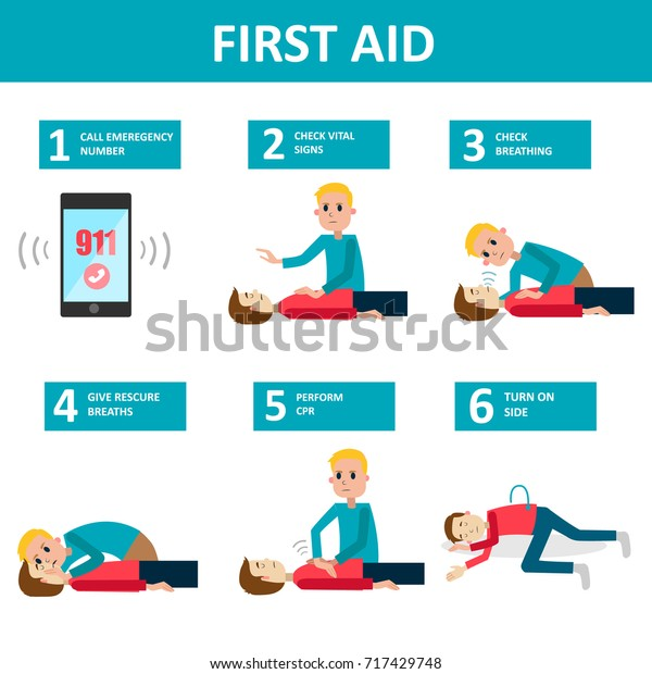 Pre-Printed First Aid Banner 8 x 4 Red1