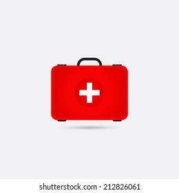 First aid box icon - Vector