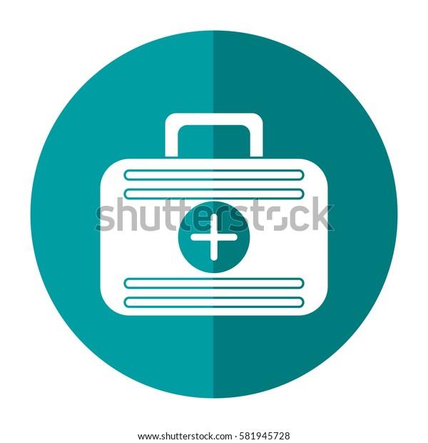 first aid case medical emergency shadow