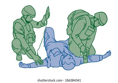 First aid in combat