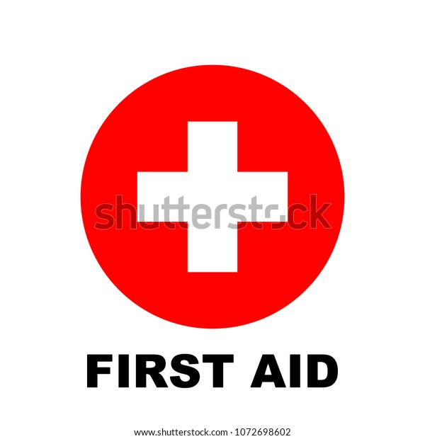 First Aid Icon Medical Cross Symbol Stock Vector (Royalty Free