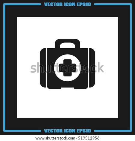 First Aid Icon Vector Illustration Eps 10 Stock Vector (Royalty Free