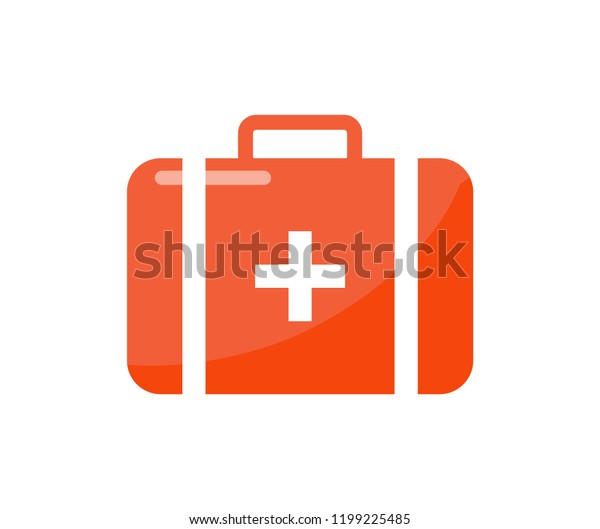 First Aid Kit Cartoon Style Isolated Stock Vector (Royalty Free