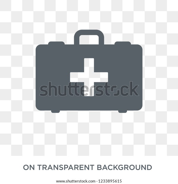 First Aid Kit Icon Trendy Flat Stock Vector (Royalty Free) 1233895615