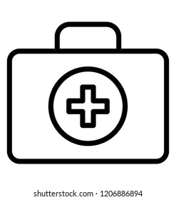 First aid kit for medical emergency