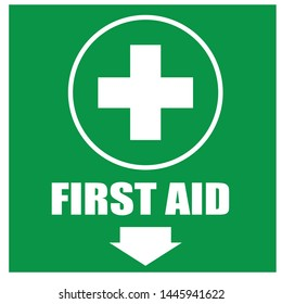 First aid kit vector icon - Vector
