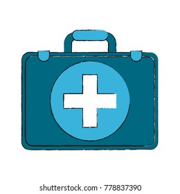 First aids suitcase