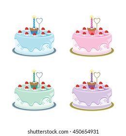First Birthday Cake Images Stock Photos Vectors Shutterstock