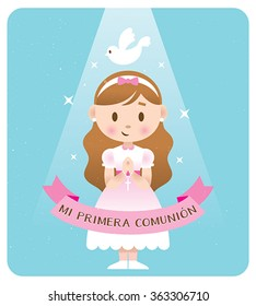 First Communion spanish banner