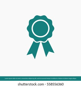 First place award icon. One of set web icons
