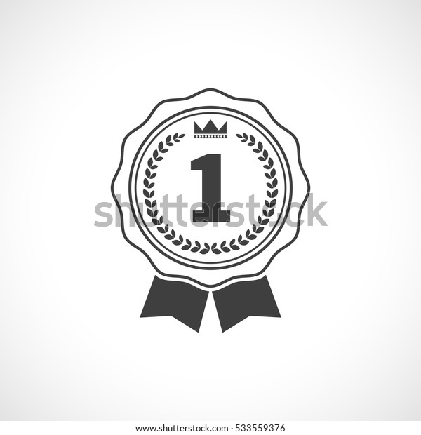 first place medal outline icon