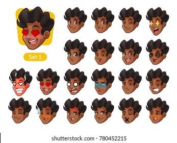 Cartoon Man Curly Hair Images Stock Photos Vectors Shutterstock