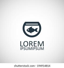 fish, aquarium icon