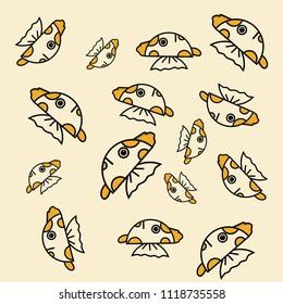 fish background minimalis