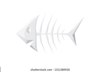 Fish bone stylized