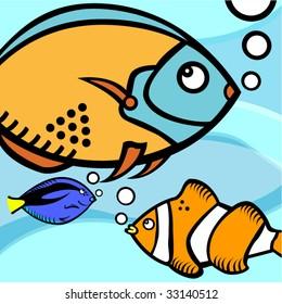 fish graphic vector