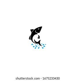 Fish Logo ilustration vector Template