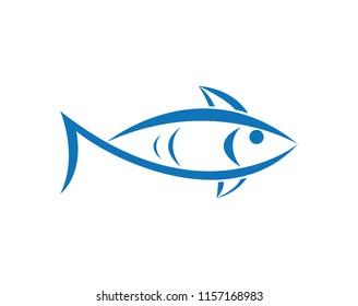 fish logo template