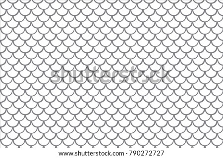 fish scale background dragon scales seamless stock vector royalty