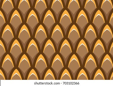 fish scale pattern, brown pattern, big fish scale, brown color palette, dragon scale,