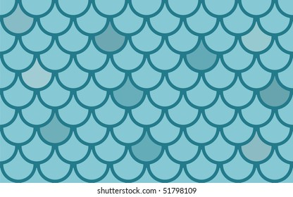 Fish scales seamless  vector texture