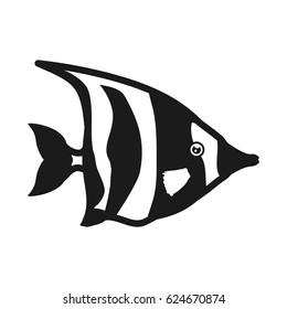 Fish sea animal symbol