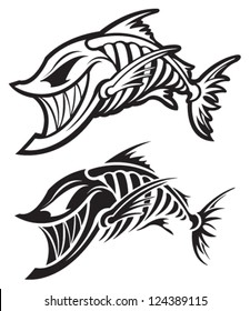 fish skeleton images stock photos vectors shutterstock Fish Skeleton Sign fish skeleton