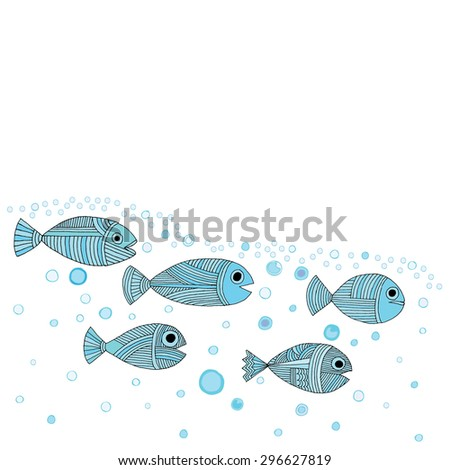 fish template stock vector royalty free 296627819 shutterstock