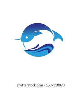 fish vector clipart nad logo design