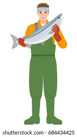Fisherman Fishing industry Salmon