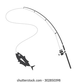 fishing clip art, vector