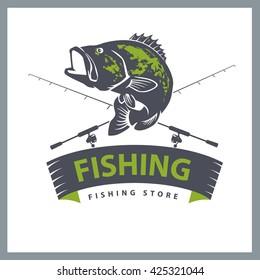 fishing design template
