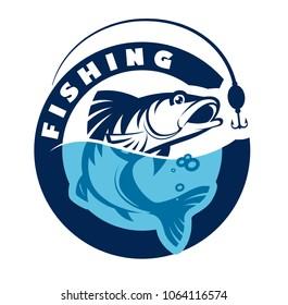 Fishing logo/sign. Vector illustration .eps10