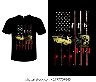 Fishing t shirts design,Vector graphic, typographic poster or t-shirt.
