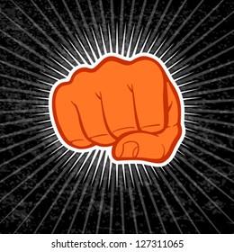 Fist eps 10 file