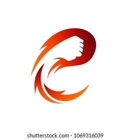 Fist Letter C Logo