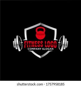 Fitness and Bodybuilding Logo design inspiration Vector