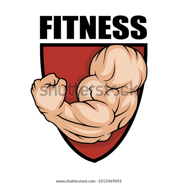 Fitness Center Gym Emblem Fitness Logo Stock Vector Royalty Free 1013469001