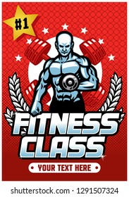 fitness class poster