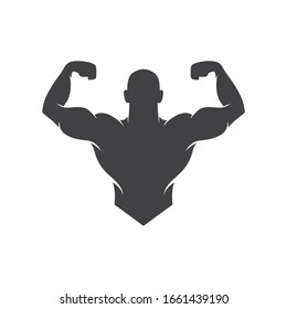 Fitness Gym logo and Icons for Sport Label, Gym Badge, gym and fitness club, vector illustration