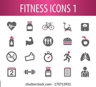 Fitness Icons 1.
