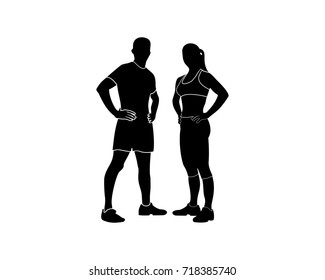 Silhouette Fit Woman Images Stock Photos Vectors Shutterstock Find images of female silhouette. https www shutterstock com image vector fitness silhouette 718385740