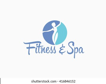 Fitness and Spa Logo