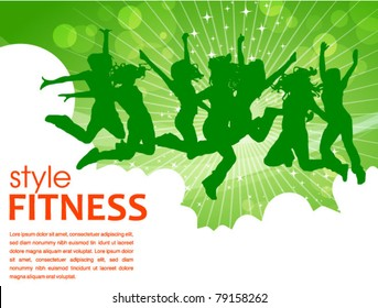 fitness style poster