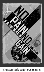No Pain No Gain Images, Stock Photos & Vectors | Shutterstock