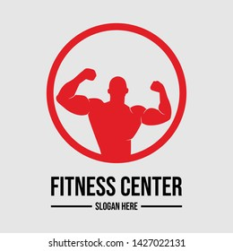 Fitness vector logo design template,design for gym and fitness vector